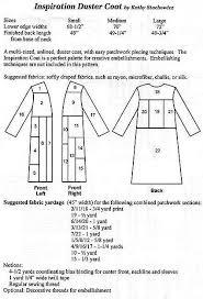 Duster Coat Pattern