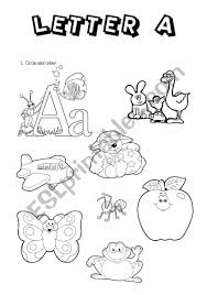 Order hard copies of our phonics monster series on amazon.com! Phonics Letter A Esl Worksheet By Joannaturecka