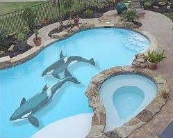 pool paint colorsHow to Paint a Mural in your Pool  InTheSwim Pool Blog