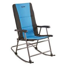 blue rocking chair. Guide Gear Oversized Rocking Camp Chair, 500 Lb. Capacity, Blue Chair