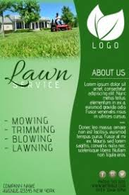 Sample Flyers For Landscaping Business Lawn Care Flyers Business Form Letter Template