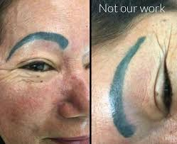 how to avoid semi permanent eyebrows
