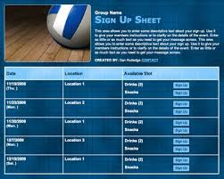 Create Sign Up Sheet Www Signupgenius Com You Can Use The Site To Create Sign Up Sheets