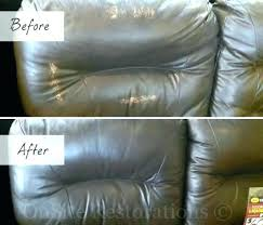 repairing tear in leather couch repair photo 4 of 8 how to fix ripped can i a