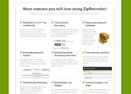 Ziprecruiter Pricing Features Reviews Comparison Of