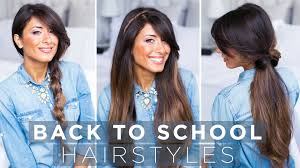 Luxy Hair Style cute & easy back to school hairstyles youtube 2175 by wearticles.com