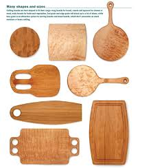 Cutting Board Patterns Fascinating Free Patterns Bread Boards And Cutting Boards FineWoodworking