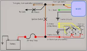 project yamaha wiring diagram for amc regulator radio shack rectifier courtesy of xs650 com