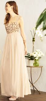chiffon bridesmaid dresses gowns adrianna papell