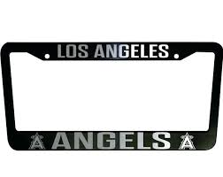angels license plate frames dodgers license plate frame