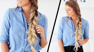 Luxy Hair Style bohemian fishtail hairstyle luxy hair youtube 8889 by wearticles.com