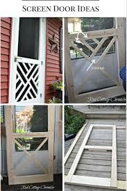 Homemade Screen Door Designs Pin On Home Decor