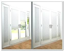 inspirational patio doors with blinds inside and french glass best sliding ideas between