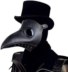 Plague Doctor Mask,Bird Beak Mask Long Nose Cosplay ...
