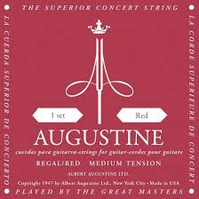 Augustine Regal Red Xht Mt Classical Guitar Strings Full Set