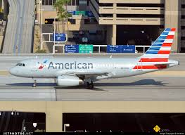 aa a319 after repainting from us airways livery