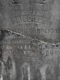"Priscilla ""Polly"" Crawford Carpenter (1829-1862) - Find A Grave Memorial"