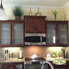 glass inserts for kitchen cabinet doors white kitchen cabinets with frosted glass doors loft how to