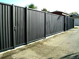 how to build a corrugated metal fence steel wonderful sheet panels