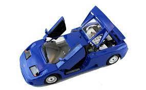 Inzerát bugatti eb110, 1/24, bburago v okrese pardubice, cena 300kč, od honza na sbazar.cz. Bugatti Eb 110 Blue 1 24 Scale Diecast Car Model By Bburago 22025