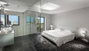 Curved Shower Wall with Glass Blocks contemporary-bathroom