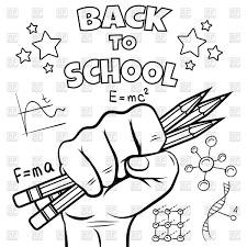 welcome back to school coloring pages awesome back to school drawing at getdrawings