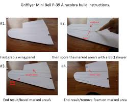 even written build instructions so that you can build one of these mini warbirds for yourself you can this here bell p 39 instructions pdf