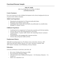 sample youth resume
