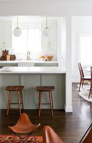 before and after mid century kitchen makeover