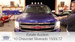 2010 Chevrolet Silverado 1500 LTZ for sale - YouTube