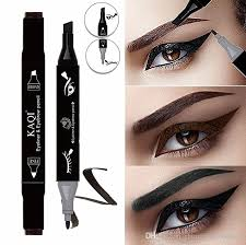 new 2 in 1 waterproof black brown liquid eyeliner eyeliner pencil long lasting eye liner makeup eye makeup tips from chinatradepany 0 87 dhgate