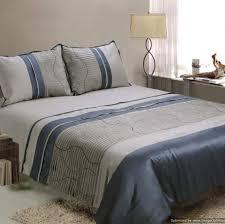fascinating grey and blue comforter sets