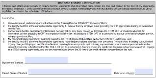 form i 983 example stem opt training plan form i 983 global engagement santa