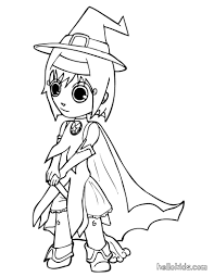 Small Picture Witch fancy dress coloring pages Hellokidscom