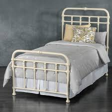 braden iron bed wesley. Laredo Iron Trundle Bed By Wesley Allen - Antique White Finish Braden E