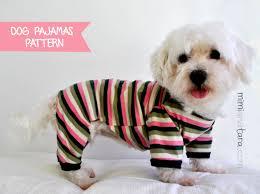 Dog Pajama Pattern