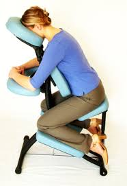 chair massage. how you sit in it chair massage
