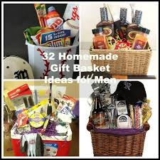 gift baskets for couples. Exellent Gift HomemadeGiftBasketforMen For Gift Baskets Couples A