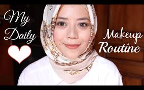 my daily makeup tutorial indonesia daily makeup routine everyday makeup routine mymetime