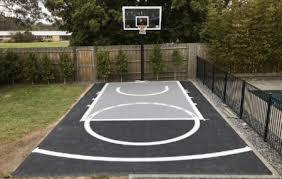 backyard basketball swish court free throw pro by msf sports