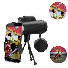 panda <b>40x60 hd zoom</b> lens camping travel waterproof monocular ...