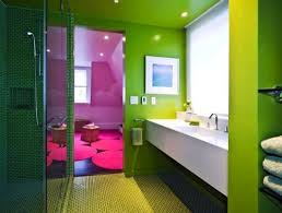 Bright And Colorful Bathroom