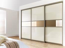 Sliding Closet Doirs Home Design Wood Sliding Closet Doors With Mirrors Craft Room
