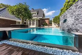 Infinity Pool Backyard Minimalist