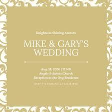 Wedding Invitatiins Customize 1 381 Wedding Invitation Templates Online Canva