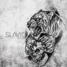At Slavictattoo Slavic Tattoo Kitty Available Tigertattoo