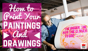 how to make prints of your art for portfolios and exhibitions