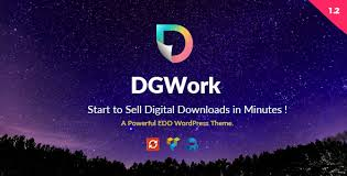 Theme Downloads Dgwork Powerful Responsive Easy Digital Downloads Theme By Themevan