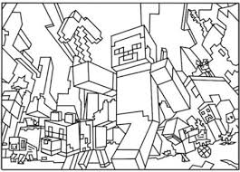 Minecraft Skin S Free Colouring Pages