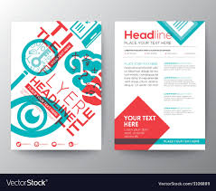 Typography Design Layout Typography Brochure Flyer Design Layout Template